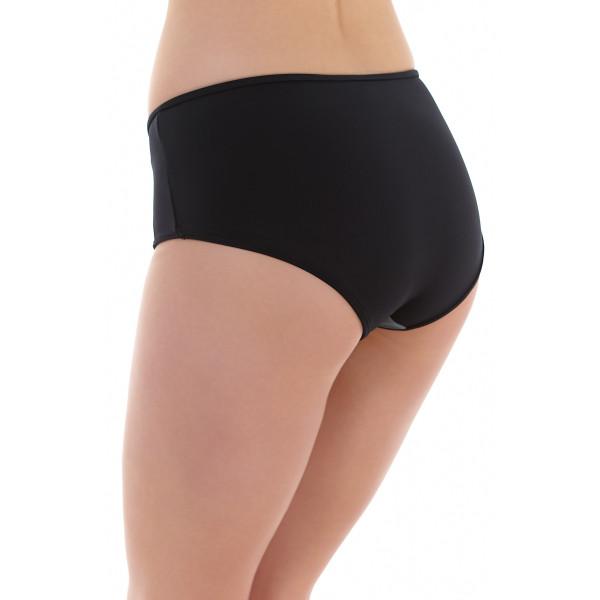 Bondi, Black, hoher Bikini Slip von FREYA, AS3967, Seitenansicht