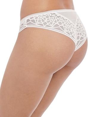 Brazilian, Soiree Lace, Weiß, von FREYA, AA5017A, Detail, Seitenansicht