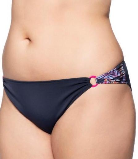 Bikini-Slip Nizza, Blau, von ULLA Dessous, Detailansicht
